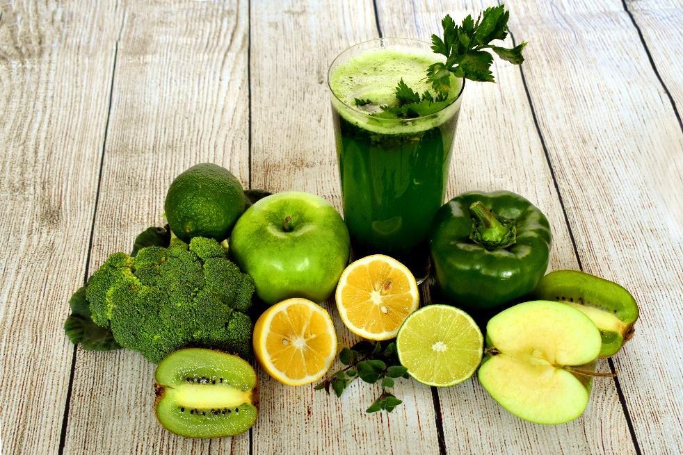 深綠色蔬菜含有豐富礦物質鎂